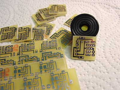 making a printed circuit boardMaking Printed Circuits With Pcb #21